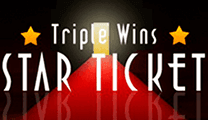Triple Wins star Ticket на деньги